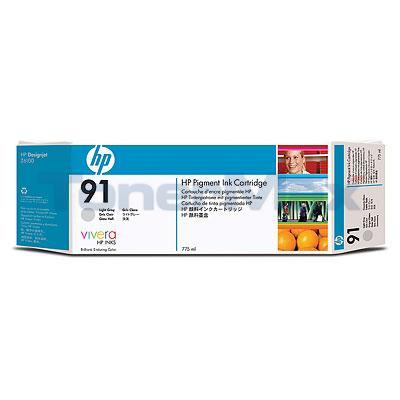 HP NO 91 INK LIGHT GRAY 775-ML
